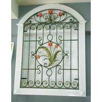 Декоративные решетки: безопасность и украшение дома