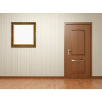 О преимуществах отделки МДФ для металлических дверей