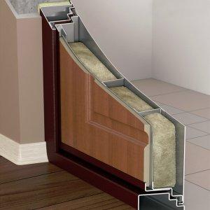 Шумоизоляция металлических входных дверей>