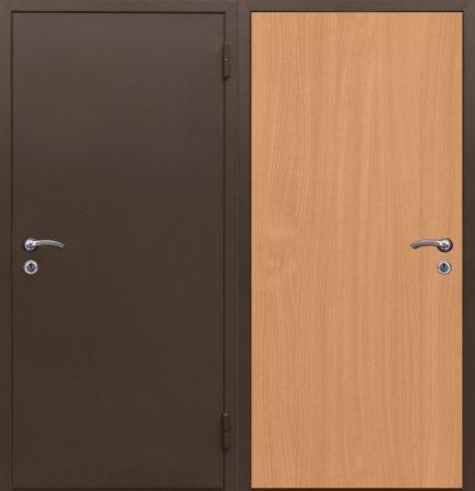 Металлическая дверь эконом класса - 10-13