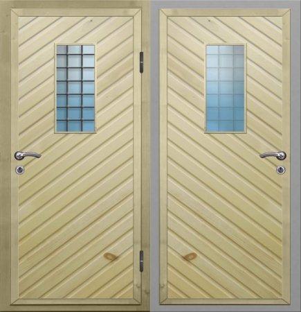 Металлическая дверь эконом класса - 10-23