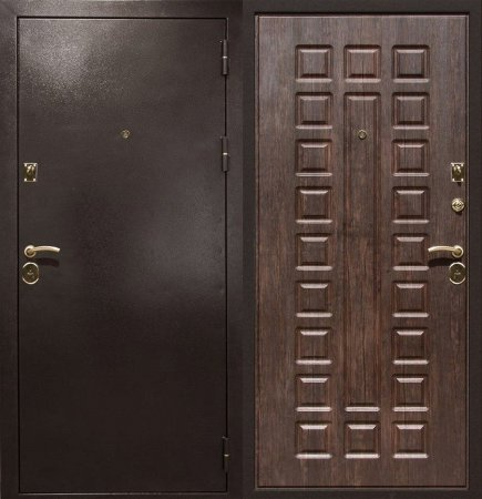 Металлическая дверь эконом класса - 10-24