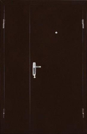 Металлическая дверь эконом класса - 10-56