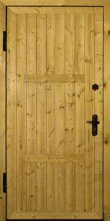 Металлическая дверь эконом класса - 10-58