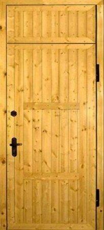 Металлическая дверь эконом класса - 10-77