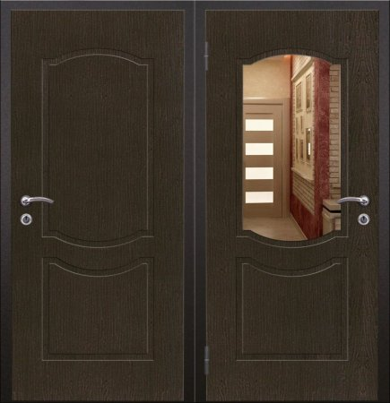 Металлическая дверь эконом класса - 10-82