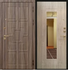 Входная металлическая дверь - 10-89
