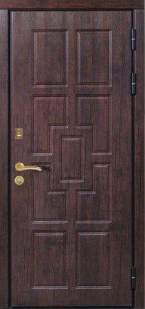 Металлическая дверь эконом класса - 11-13