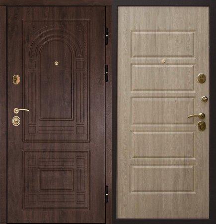 Металлическая дверь эконом класса - 11-24