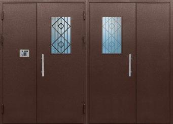 Входная металлическая дверь - 12-15