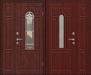 Входная металлическая дверь - 12-21