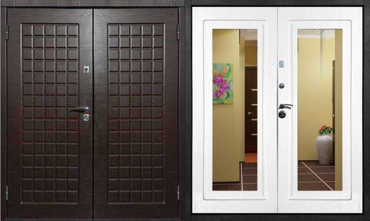 Премиальная металлическая дверь - 12-65