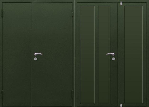 Металлическая дверь в сталинку - 13-84