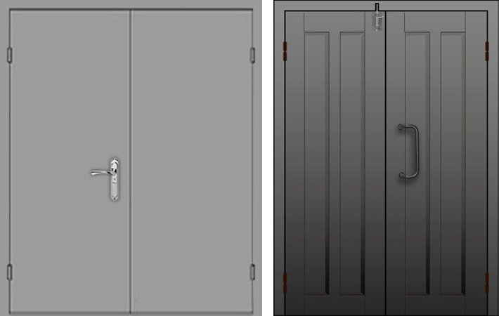 Металлическая дверь в сталинку - 13-88