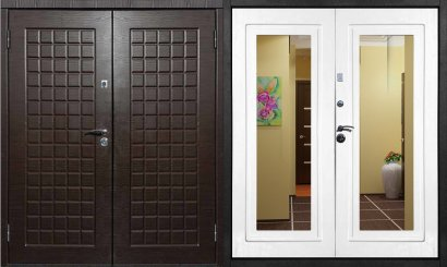 Входная металлическая дверь - ДВ-019