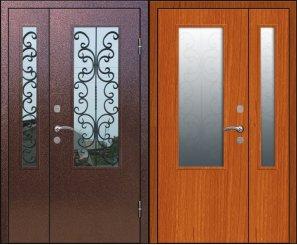 Входная металлическая дверь - 15-36