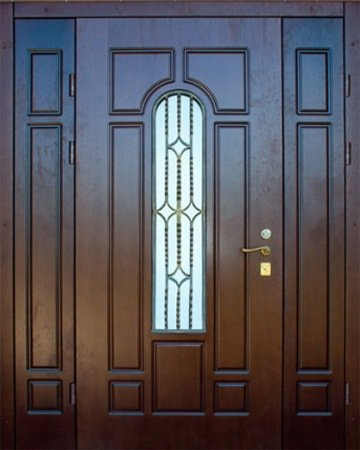 Большая металлическая дверь - 15-38