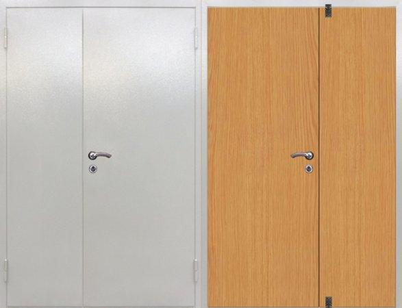 Большая металлическая дверь - 15-50