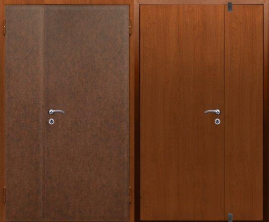 Большая металлическая дверь - 15-52