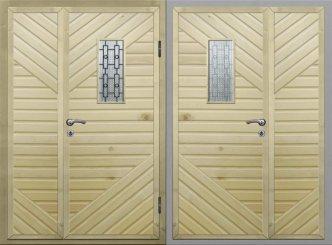 Входная металлическая дверь - 15-55