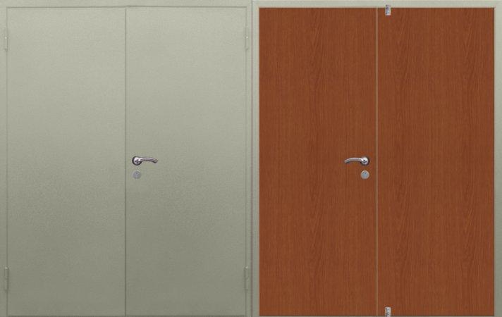 Большая металлическая дверь - 15-79