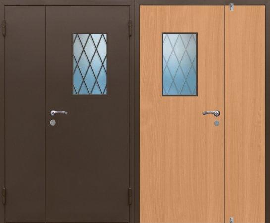 Большая металлическая дверь - 15-83