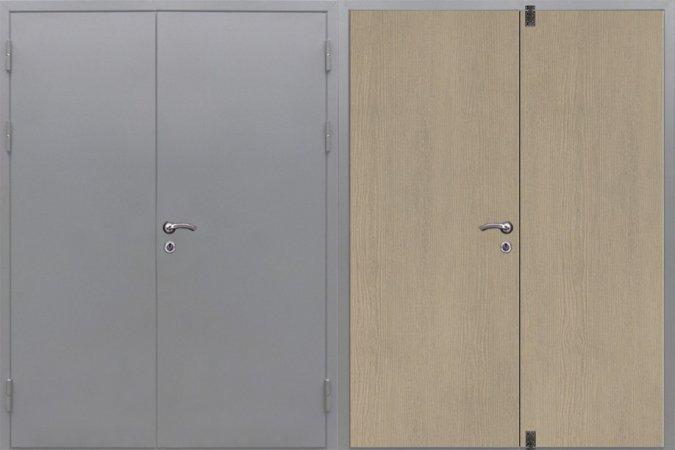 Большая металлическая дверь - 15-87