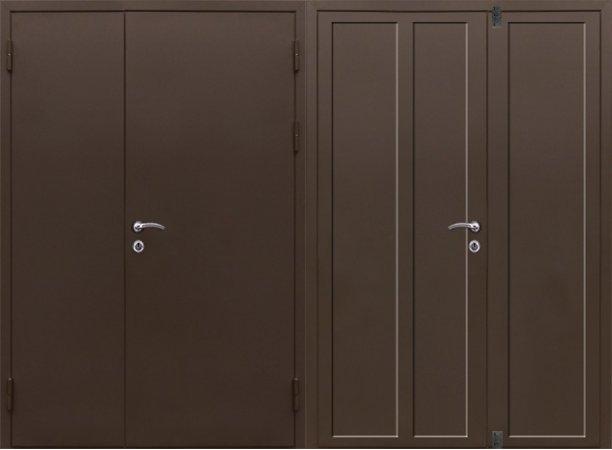Большая металлическая дверь - 15-88