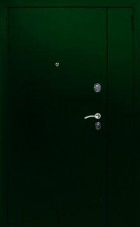 Полуторная металлическая дверь - 15-92