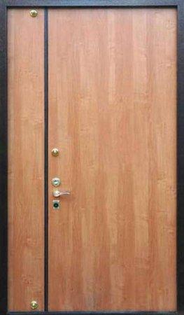 Полуторная металлическая дверь - 15-97