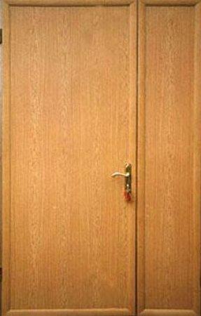 Полуторная металлическая дверь - 15-98