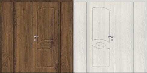 Входная металлическая дверь - 16-17