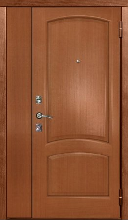 Полуторная металлическая дверь - 16-24