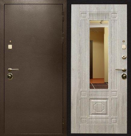 Двухлистовая металлическая дверь - 16-36