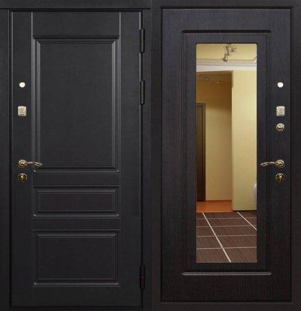Двухлистовая металлическая дверь - 16-38