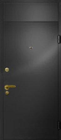 Двухлистовая металлическая дверь - 16-44