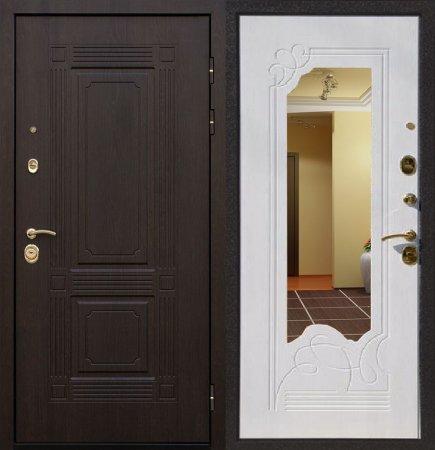 Двухлистовая металлическая дверь - 16-45