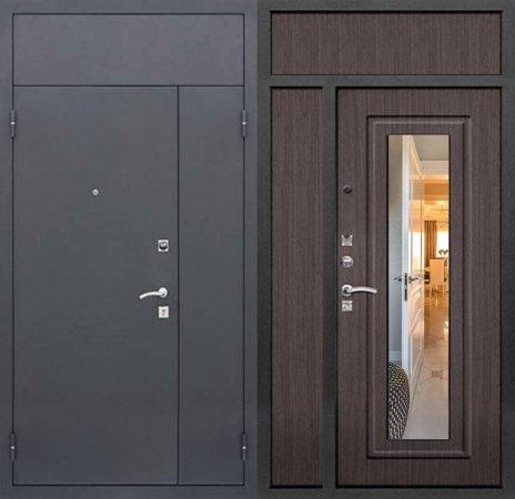 Двухлистовая металлическая дверь - 16-48