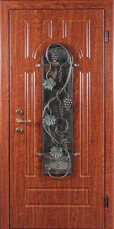 Двухлистовая металлическая дверь - 16-53