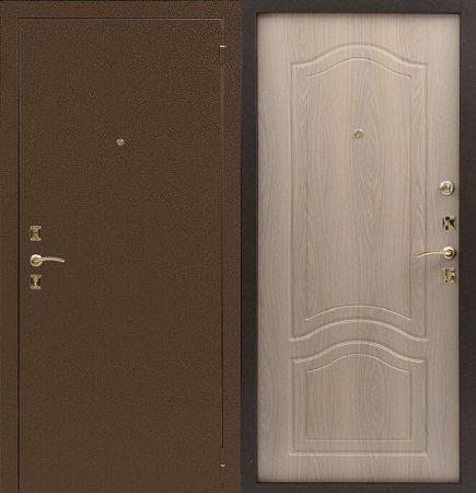Двухлистовая металлическая дверь - 16-67