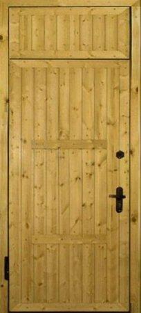 Двухлистовая металлическая дверь - 16-71