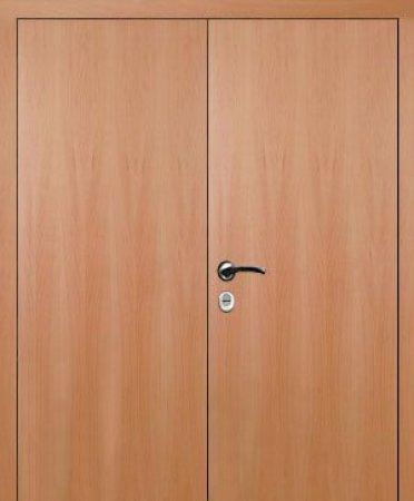 Двухлистовая металлическая дверь - 16-74