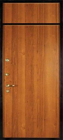 Двухлистовая металлическая дверь - 16-75