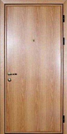 Двухлистовая металлическая дверь - 16-77