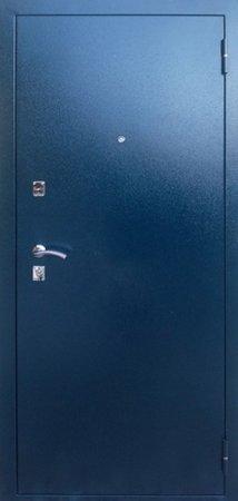Двухлистовая металлическая дверь - 16-97