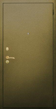 Двухлистовая металлическая дверь - 16-98
