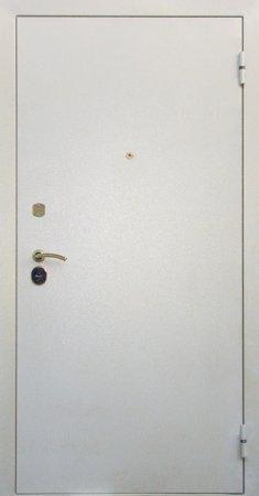Двухлистовая металлическая дверь - 17-10
