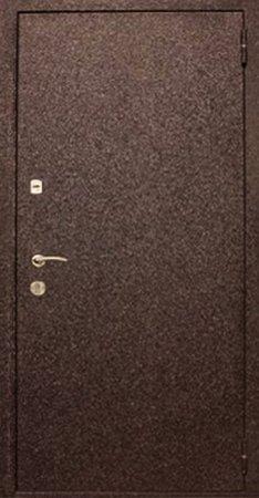 Двухлистовая металлическая дверь - 17-11