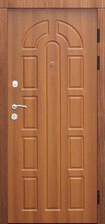 Двухлистовая металлическая дверь - 17-13