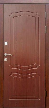 Двухлистовая металлическая дверь - 17-15